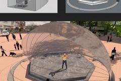 Heerde - Veluweconstructie concept uitwerking voor muziekpodium