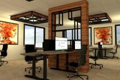 presentatie van een kantoor interieur - 2021