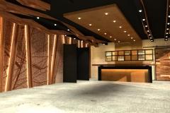 presentatie van een restaurant interieur - 2021