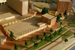 Deventer Keizerslanden maquette kleinere uitsnede